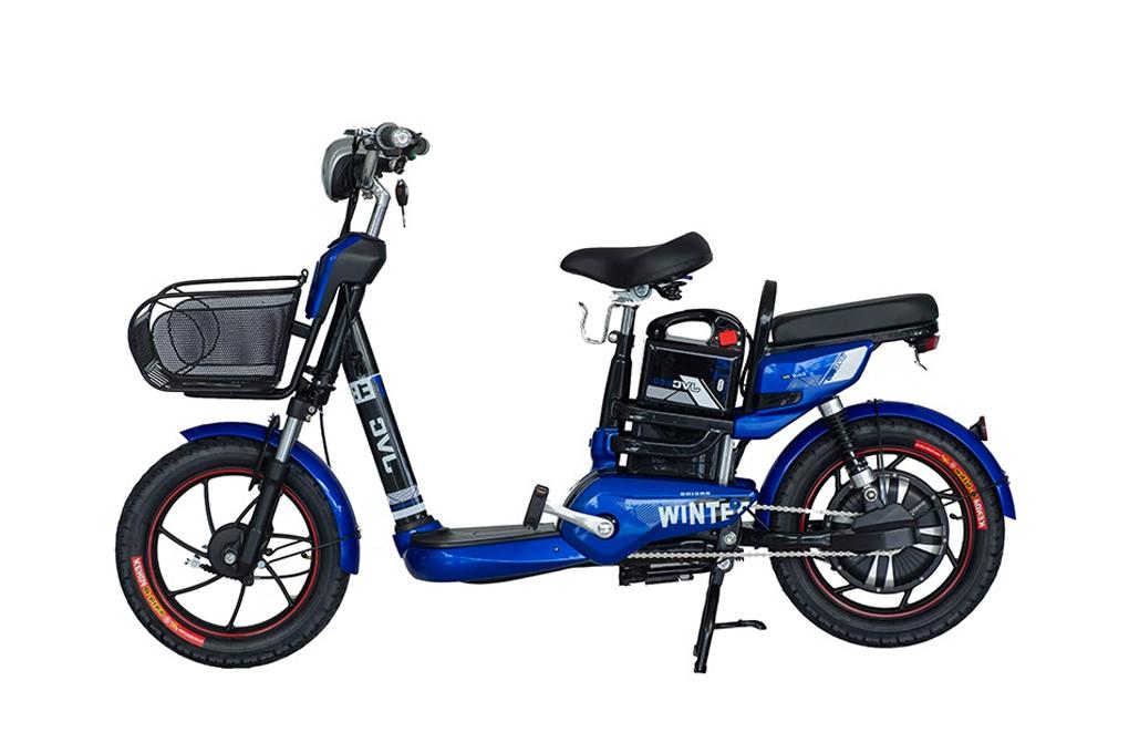 Xe đạp điện JVC Winter dễ dàng sử dụng với động cơ mạnh mẽ, vượt trội