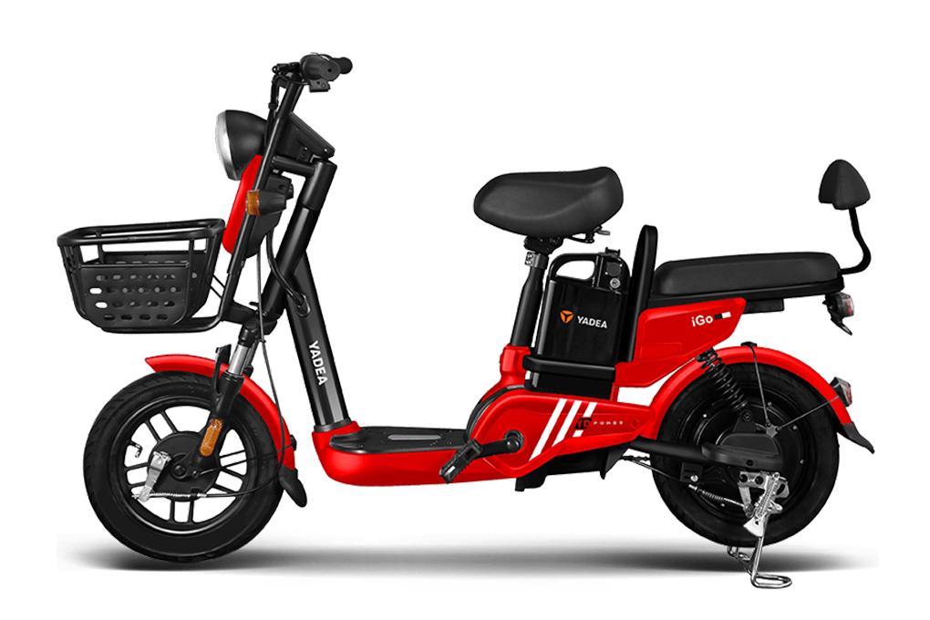 Xe đạp điện YADEA IGO với kiểu dáng hiện đại và động cơ mạnh mẽ, ấn tượng
