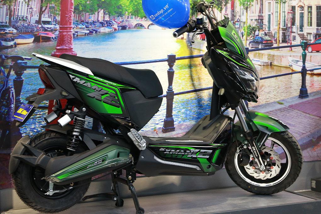 Xe máy điện DK X-Man X2 sản phẩm dành cho học sinh được ưa chuộng nhất