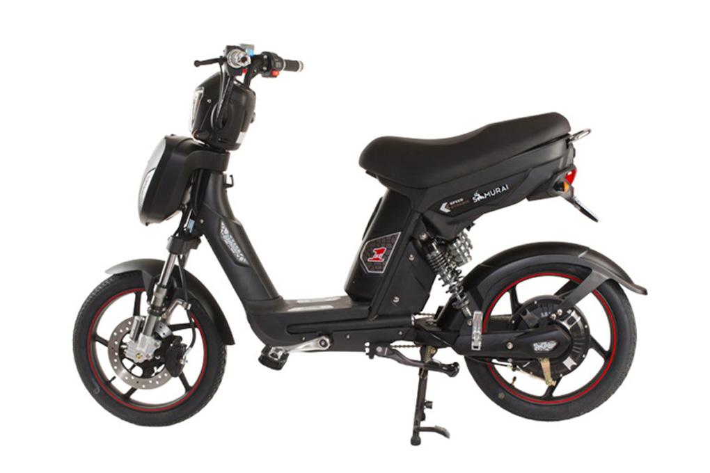 Mẫu xe đạp điện DK Samurai III với thiết kế mạnh mẽ và tính năng thông minh chỉ với giá 13.900.000VND