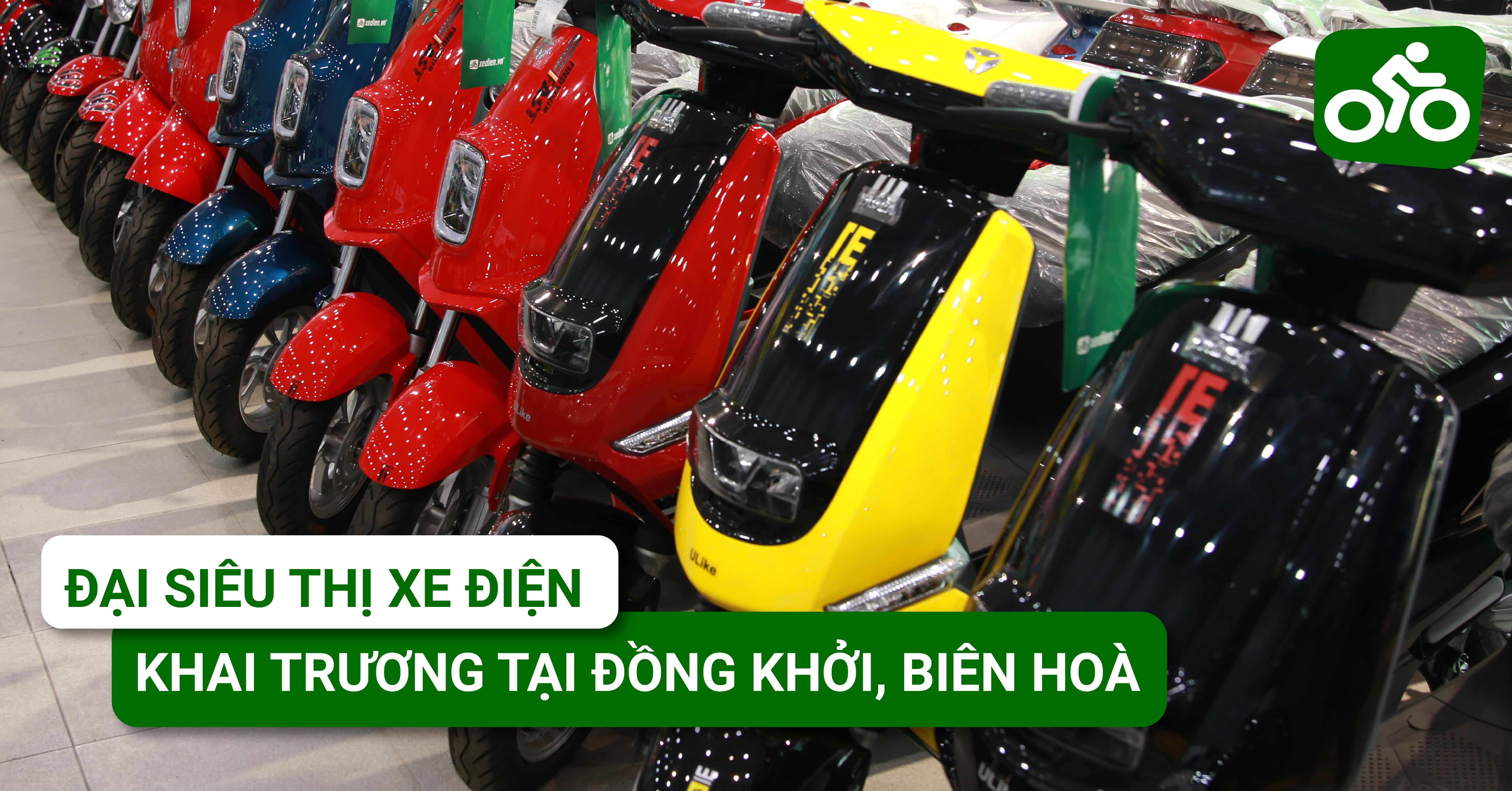 Đại siêu thị xe đạp, xe điện chính thức khai trương tại Đồng Khởi, Biên Hòa