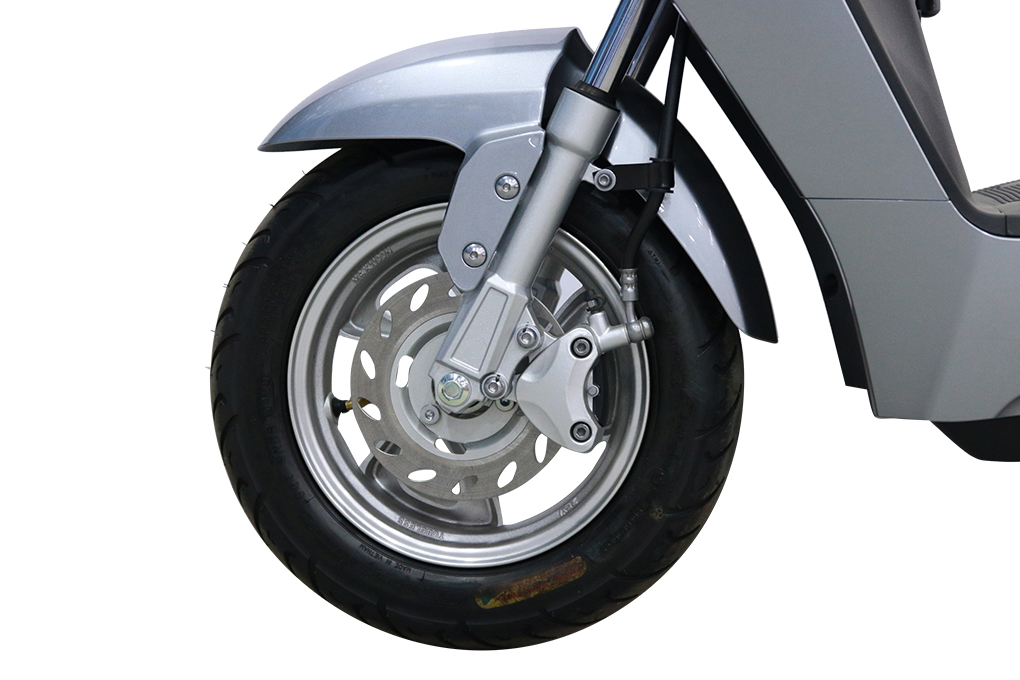 Sử dụng phanh đĩa đối xứng cực kỳ chính xác và an toàn khi vận hành