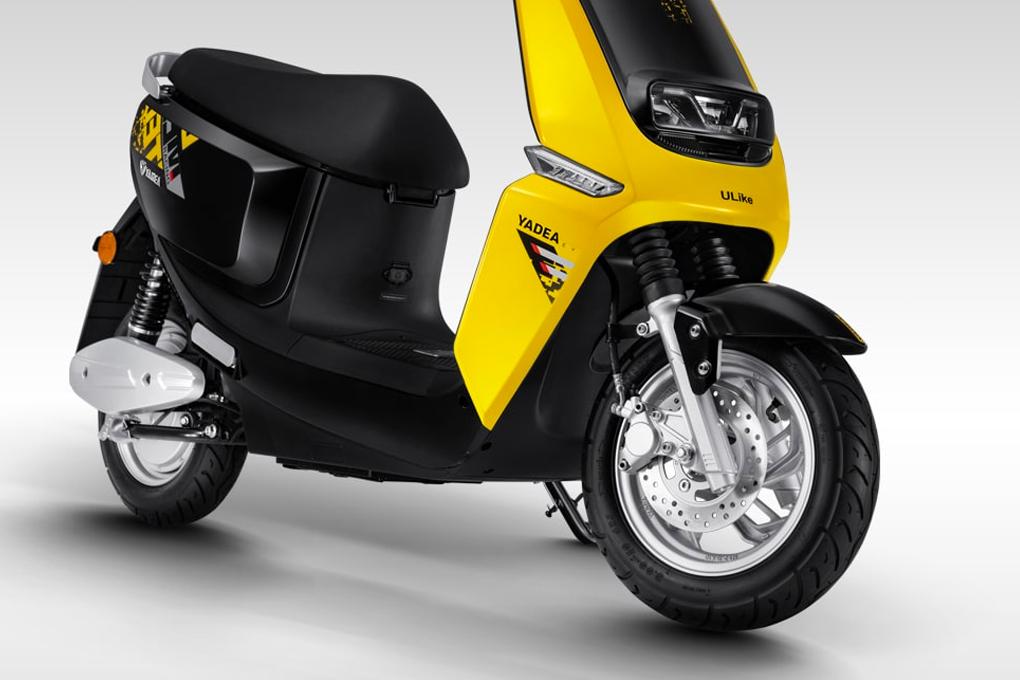 Xe máy điện YADEA Ulike được trang bị động cơ chống nước IPX6 và phanh đĩa an toàn