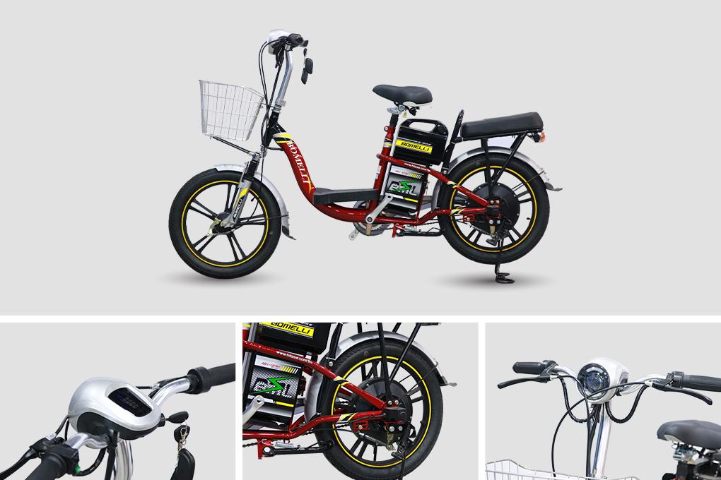 Xe đạp điện Bomelli 18 có với giá 8.590.000VND