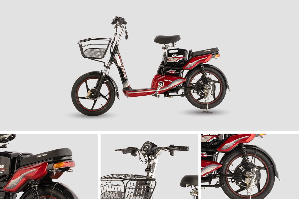 Xe đạp điện DK Miku Max S - Bánh 18 inches với giá 11.700.000VND