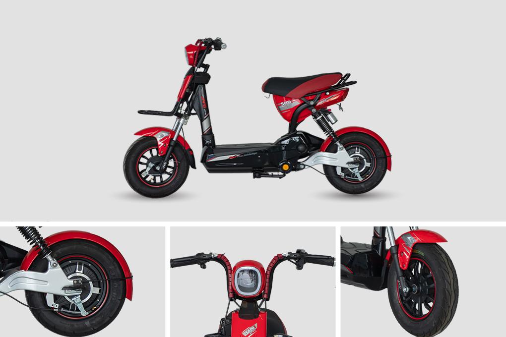 Xe đạp điện JVC S600i với giá chỉ 11.890.000VND