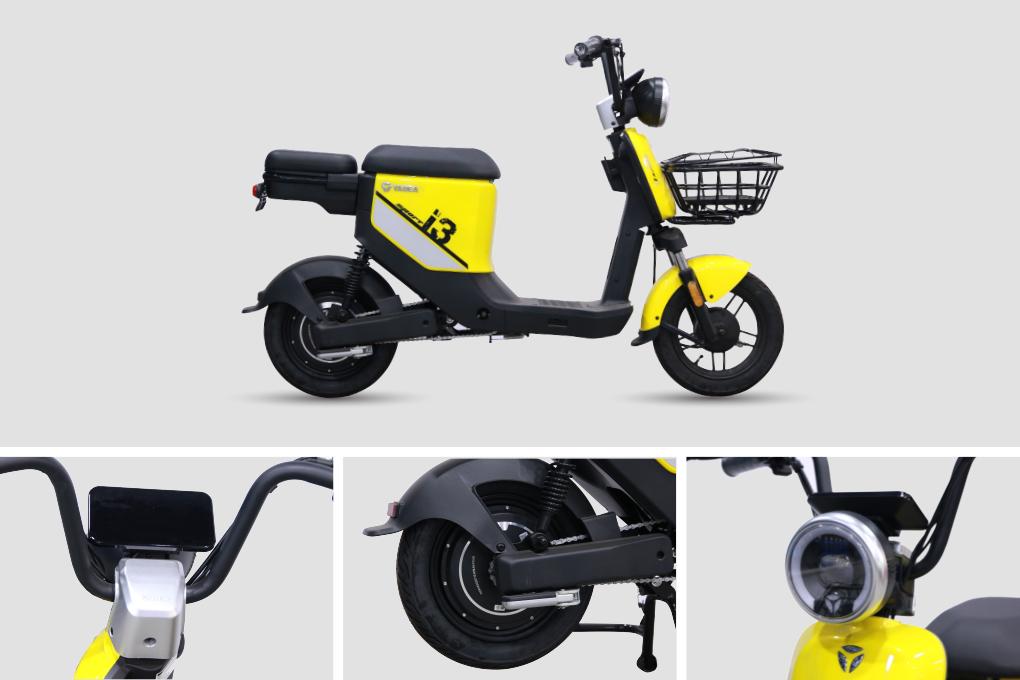Xe đạp điện YADEA I3 thời trang có giá 13.990.000VND