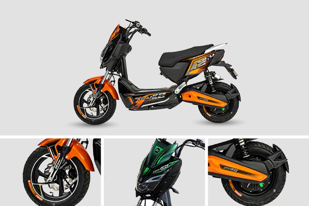 Xe máy điện DK Xman X2 phong cách chỉ với giá 18.390.000VND